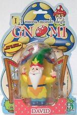 IL NUOVO MONDO DEGLI GNOMI-BLISTER DAVID-MISURA CM. 13,2-ANNO 1997-NUOVO