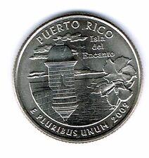 2009-D Brilliant Uncirculated Puerto Rico Quarter Coin!
