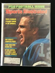 Sept 4 1978 Sports Illustrated Complete Magazine-Roger Staubach COWBOYS