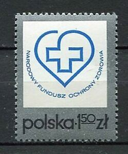 35887) Poland 1975 MNH National Fund for Health Protection
