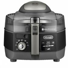 Delonghi FH1396/1 ExtraChef Plus schwarz Heißluft Fritteuse & Multicooker