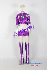Starfire cosplay costume include buckle props acgcosplay