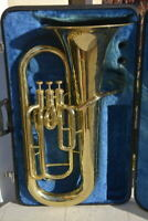 YEP 201 YAMAHA EUPHONIUM,READY TO PLAY,GREAT!! EUFONIO/FLICORNO BARITONO:SUPER!!