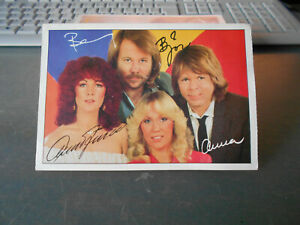 ABBA ++ Bravo-Autogrammkarte ++ AK ++ TOP ++