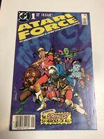 Atari Force (1984) # 1 (NM) Canadian Price Variant CPV