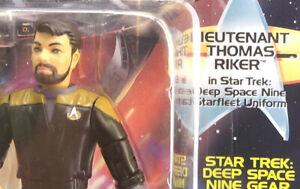 Thomas Riker Common One Deep Space 9 USS Defiant 94 Playmates Star Trek DS9 MOC