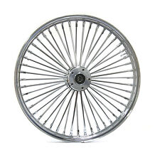 FAT SPOKE FRONT WHEEL CHROME 21 X 3.5 HARLEY SOFTAIL FLSTN FLSTC HERITAGE SLIM