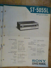 Sony  ST-5055L  Stereo Tuner   Service Manual