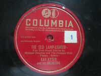 Kay Kyser Huggin' And Chalkin' ~ The Old Lamplighter Columbia 37095 78 rpm