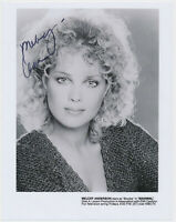 MELODY ANDERSON - hand signed Autograph Autogramm  - 20 x 26 cm