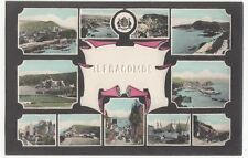 Devon; Early Ilfracombe Multiview, Embossed To Centre PPC, Unposted, c 1910