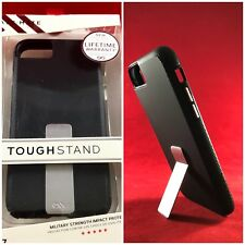 NEW Apple iPhone 6/6S iPhone 7 iPhone 8 OEM CaseMate Tough Stand Case - Black