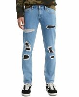 Levi's Mens Jeans Blue Size 36X30 511 Slim Leg Stretch Distressed $69 #259