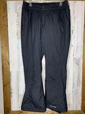 Columbia Men's Ski Pants size XL Black Omni Shield