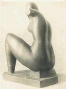 """Zwei Original Vintage Hans Haffenrichter """"Eigene Skulptur"""" Bauhaus, Bernau"""