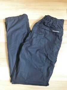 Craghoppers Navy Blue Trousers - Size 8R