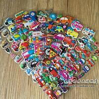 Random 12 sheets no repeat  kids Paper Crafts Traffic study Sticker Lot gift