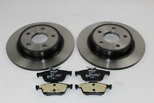 Original Brake Discs + Brake Pads Rear Ford Focus MK3 1704765+ 1809259
