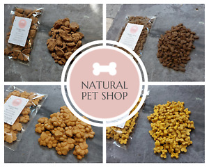 Natural Training Treats for Dogs - Salmon Chicken Duck Beef Cheese Sprats