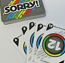 Hasbro SORRY! FIRE & ICE Board Game Replacement Parts 45 Game Cards Deck