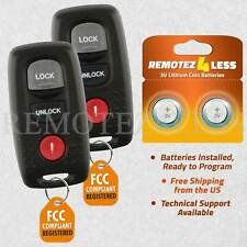 Replacement For 2004 2005 Mazda 3 6 Keyless Entry Remote Car Key Fob Pair Fits Mazda