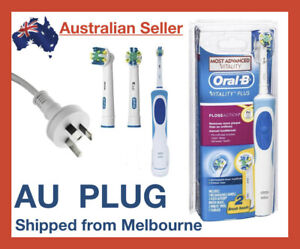 Oral-B Vitality Braun Power Floss Action Electric Rechargeable Toothbrush Brush