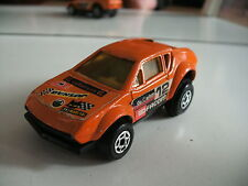Majorette Motor Renault Alpine in Orange