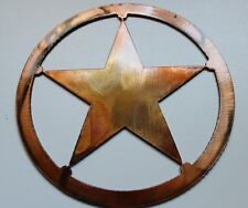 "Texas Star Metal 18"" Wall Art Decor"