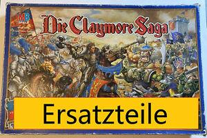 Ersatzteile Die Claymore Saga Brettspiel Gessellschaftsspiel konvolut Workshop