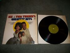IKE & TINA TURNER Greatest Hits LP - Warner Bros 1810 - EX VINYL IN SHRINK