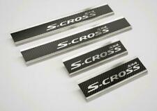 Edelstahl Carbon Style Einstiegsleisten für Suzuki SX4 S-Cross