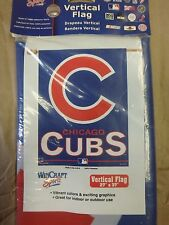 WINCRAFT CHICAGO CUBS 27 X 37 VERTICAL FLAG 179340 MLB