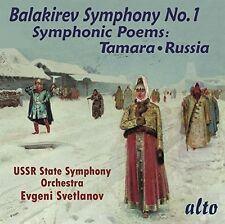 Evgeni Svetlanov / U - Balakirev: Symphony 1 / Symphonic Poems Tamara [New CD]