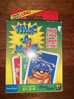 Whac - A - Mole Card Game - Match a Mole, Smack it Fast! Preschool Age Game Fun!