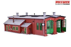 Vollmer 45752 H0 Lokschuppen mit Türschließvorrichtung, zweiständig ++ NEU & OVP