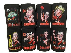 Essendon Bombers Player Caricature coolers - Paul Harvey