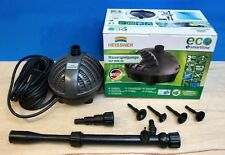 Garden Fish Pond Pump 3000ltr ECO Fountain Waterfall Submersible Outdoor New