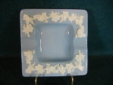 Wedgwood Cream Color CC on Lavender Smooth Edge Square Ashtray(s)