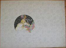 Large c. 1930, Art Deco Candy/Hat Box File Sample Label