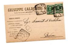 CALDERONI & C NOVARA POSATE LUCERNE LAMPADE GAS ACETILENE PALLINI DA CACCIA 1908