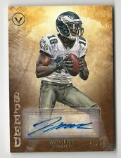 Jeremy Maclin 2012 Topps Valor Auto Card Autograph Speed Eagles Chiefs SP /70