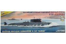 """ZVEZDA 9007 1/350 Russian Nuclear Submarine K-141 """"Kursk"""""""
