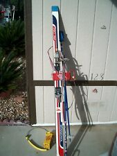 Vintage Skis Pro-Am Rossignol With 2 Poles And Ski Totes
