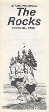 Le Parc Provincial The Rocks Provincial Park New Brunswick Canada Brochure