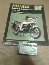 Haynes Manual For Honda CB750 & CB900 dohc Fours 1978 to 1984