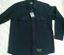 NWT DOCKERS Levi's CPO SHIRT PORTUGUESE MADE 80% WOOL - LINED COLLAR/CUFFS SML 2