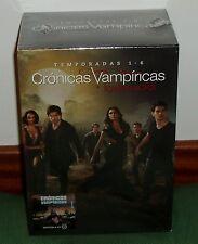 CRONICAS VAMPIRICAS-THE VAMPIRE DIARIES-1-6 TEMPORADAS COMPLETAS-30 DVD-NUEVO