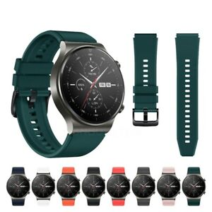 For Huawei Watch GT 2 Pro Strap Silicone Fitness Replacement Wrist Band