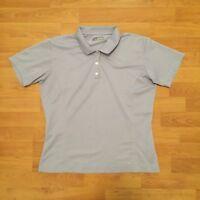 Nike Golf Fit Dry Polo Shirt Short Sleeve Purple Womens Ladies Large