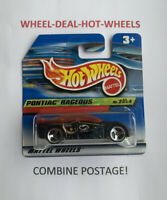 Hot Wheels - 2000 - Pontiac Rageous - No.2/4 - Rare! - MOC!